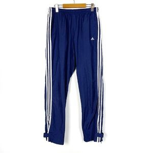 Adidas Blue with White Stripes Track Pants